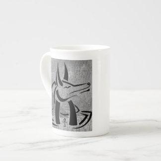 Anubisの骨灰磁器のマグ ボーンチャイナカップ