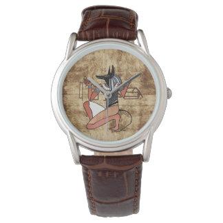 Anubis保護者のエジプト人 腕時計