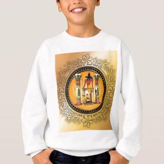 Anubis、エジプト スウェットシャツ