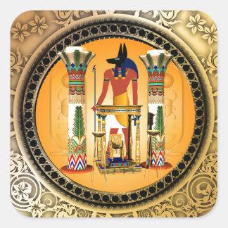 Anubis、エジプト スクエアシール