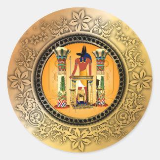 Anubis、エジプト ラウンドシール