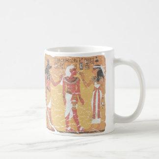 Anubis、Tut、Osiris コーヒーマグカップ