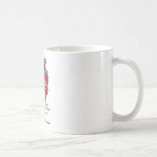 AorticPig弁のコーヒー・マグKu及びケビンのシアバターによる芸術 コーヒーマグカップ