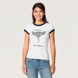aotearoaのニュージーランドのアカエイ tシャツ