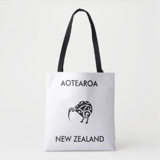 aotearoaのニュージーランドのキーウィ1 トートバッグ