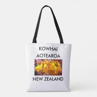aotearoaのニュージーランドのkowhai 2 トートバッグ