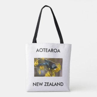 aotearoaニュージーランドtui トートバッグ