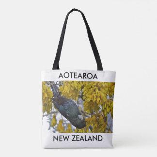 aotearoaニュージーランドtui 2 トートバッグ