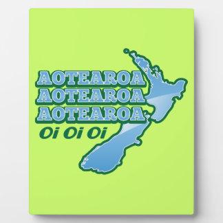 Aotearoa Aotearoa Aotearoaのoiのoiのoi! キーウィから フォトプラーク