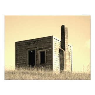 aotearoa settlers shack building house hut フォトプリント