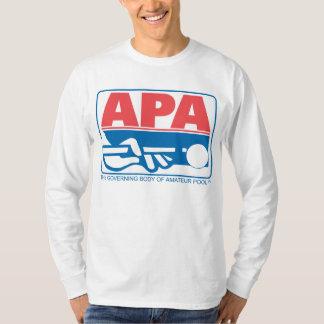 APAのオリジナルのロゴ Tシャツ