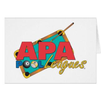 APAのプールリーグ カード
