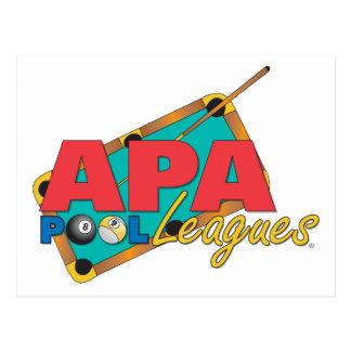 APAのプールリーグ ポストカード
