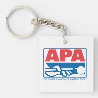 APAのロゴ キーホルダー