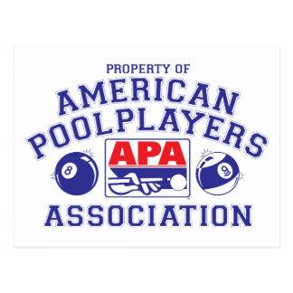 APAの特性 ポストカード