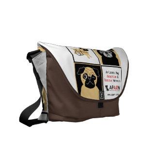 APARNの救助は中型のメッセンジャーバッグの後をつけます メッセンジャーバッグ