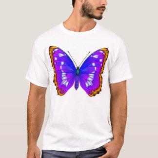 ApaturaのアイリスおよびアカタテハチョウTシャツ Tシャツ