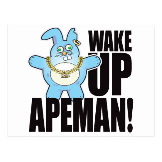 Apemanの悪いパンの航跡 ポストカード