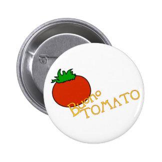 APH Buonoのトマトボタンのバッジ 5.7cm 丸型バッジ