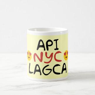 Api Nyc Lagca コーヒーマグカップ