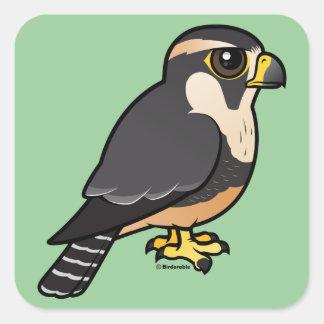 Aplomadoの《鳥》ハヤブサ スクエアシール