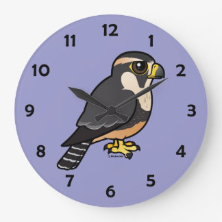 Aplomadoの《鳥》ハヤブサ ラージ壁時計