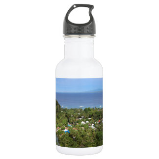 Apoの島上の景色の眺め ウォーターボトル