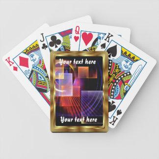 Apopを遊ぶカードは眺めのノートを喜びます平方します バイスクルトランプ