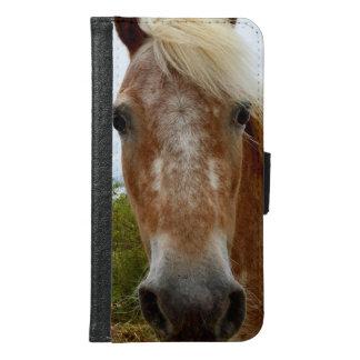 Appaloosaの馬、銀河系S6の電話財布 Galaxy S6 ウォレットケース