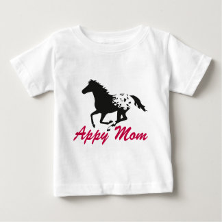 AppaloosaのAppyの連続したお母さん ベビーTシャツ