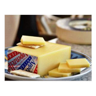 Appenzellerのクラシックのチーズ ポストカード