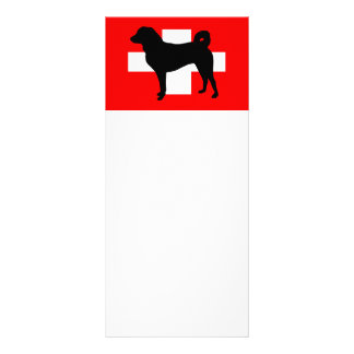 Appenzeller Sennenhundのサイロスイス連邦共和国flag.png ラックカード