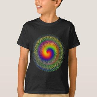 apperalチャクラのゆがみのフラクタルのvert tシャツ