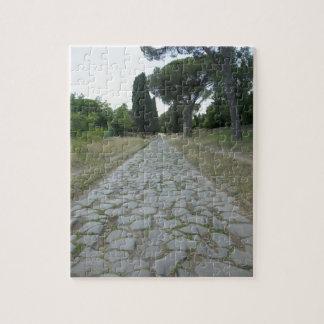 Appiaアッピア街道によって、ローマの道路 ジグソーパズル