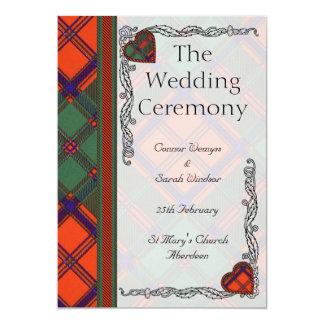 Appinの結婚式プログラムステュワート カード