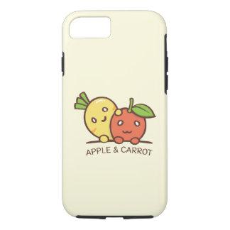 Appleおよびにんじんの例 iPhone 8/7ケース