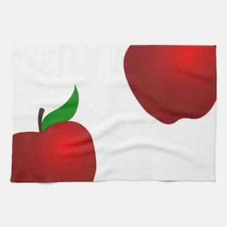 AppleおよびApple キッチンタオル