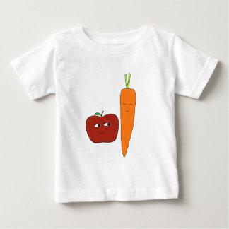 Appleにんじん ベビーTシャツ
