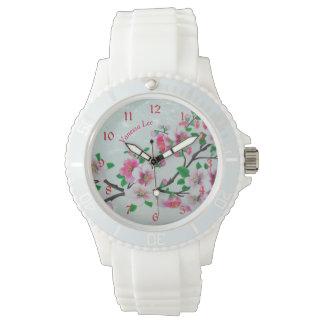 Appleのあなたの花を挙げて下さい 腕時計