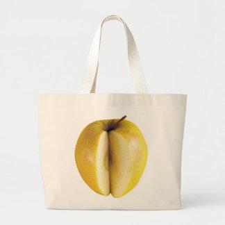 Appleのジャンボ戦闘状況表示板 ラージトートバッグ