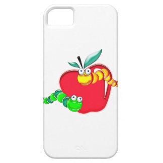 Appleのステンドグラスの幼虫 iPhone SE/5/5s ケース