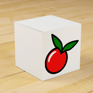 Appleのチェリーレッドのフルーツの漫画 フェイバーボックス