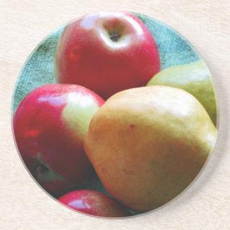 Appleのナシの歓喜の飲料用コースター コースター