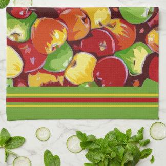 Appleのバレル キッチンタオル