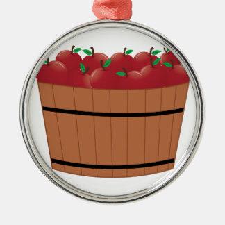 Appleのバレル メタルオーナメント