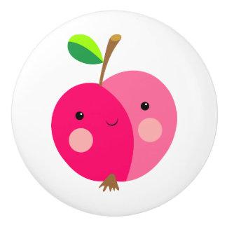 Appleのピンクの陶磁器のノブ セラミックノブ