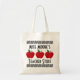 Appleの先生の物-カスタマイズ可能なバッグ トートバッグ