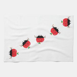 Appleの忍者 キッチンタオル