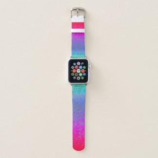 Appleの時計バンドのグリッターのスターダスト Apple Watchバンド