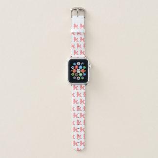 Appleの時計バンドのピンクのプードル Apple Watchバンド